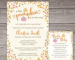lil baby shower girl pumpkin baby shower invitations sempak 7805aba5e502
