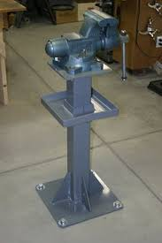 Harbor Freight Bench Grinder Stand Post Vise I Need To Make This Minus Vise For 10