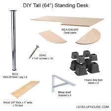 4 feet tall table jim s very tall diy standing desk