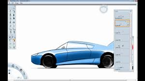 sports cars side view car design tutorial how to draw a car in side view youtube