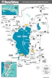 Map Of Usa With Time Zones by Lake Tahoe Maps And Reno Maps Discover Reno Tahoe