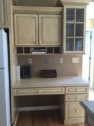 kitchen desk design help i don t know what to do with my built in kitchen desk hometalk