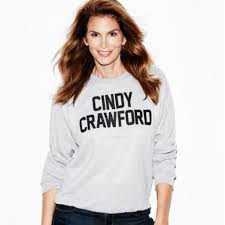 cindy crawford sweatshirts are back pret a reporter