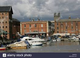 City Of Gloucester England Pleasure Sail And Power Boats Berthed