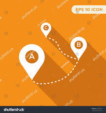 Map Direction Map Tag Vector Icon Direction Sign Stock Vector 531050515