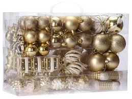 amazon com sea team 72 pack assorted shatterproof christmas balls