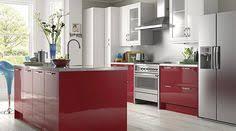 Gloss Red Kitchen Doors - b and q carisbrooke taupe kitchen ideas pinterest kitchen