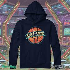 the official blips and chitz rick and morty sweatshirt zen