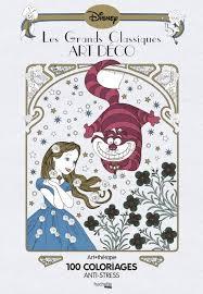 Présentation de ma chaîne et du livre 100 Coloriage art déco Disney