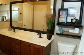 Bathroom Mirror Ideas Diy by Diy Mirror Frame Tile 40 Gorgeous Diy Stone Rock And Pebble Crafts