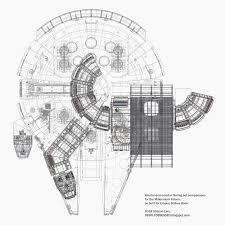 millenium falcon floor plan stinson s all things star wars blog bigger on the inside sorta
