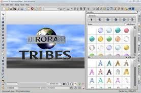 aurora 3d text and logo maker globterke