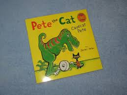 pete the cat cavecat pete children u0027s read aloud story book for