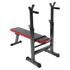adjustable folding sit up chest press home bench barbell weight
