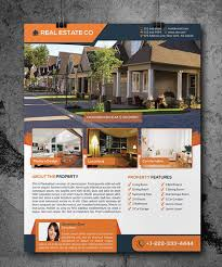 brochure real estate brochure template