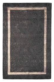 5x8 area rugs handmade wool viscose persian brown gold 5x8 lt1046 area rug