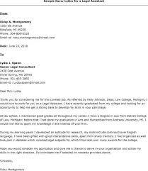 legal assistant cover letter lovinglyy us
