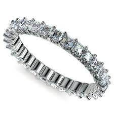 white gold eternity ring diamond eternity bands and rings in platinum white gold