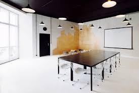 interior contemporary meeting room design ideas pendant lamp