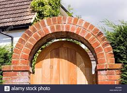 Curved Garden Wall by Curved Brickwork Stock Photos U0026 Curved Brickwork Stock Images Alamy