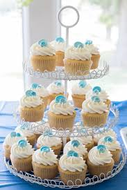 baby shower boy cakes shower ideas and cupcakes that are as a button