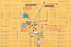 Downtown Las Vegas Map las vegas beer crawl guide thrillist