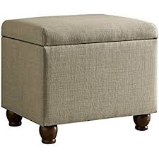 amazon com convenience concepts designs4comfort storage ottoman