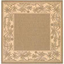 Square Indoor Outdoor Rugs Square Solid Gradient Outdoor Rugs Rugs The Home Depot