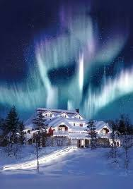 northern lights at christmas aurora borealis pinterest