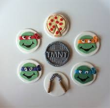 tmnt cake topper turtles tmnt edible cupcake toppers sugar spice cupcakes