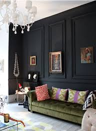 28 ideas for living room 28 ideas for black wall interior styling black molding eclectic