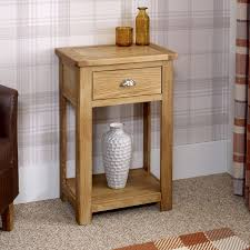 Oak Console Table With Drawers Console Tables Oak Console Tables Oak Hall Tables Furniture Oak