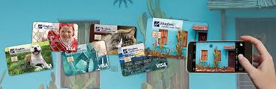 design your own credit card visa cards hughes federal credit union