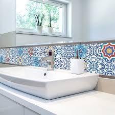 Bathtub Stickers Self Adhesive Tile Stickers Wall Kitchen Bathroom Floor Art Decor