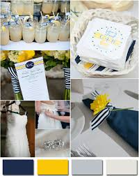 unique wedding colors navy blue and yellow decorating ideas home interior design