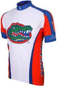 florida gator fan gift ideas amazon com ncaa florida gators cycling jersey sports outdoors