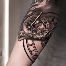coolest clocks clock breathtaking clock tattoo meaning clock tattoo sleeve rose