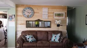 Mobile Home Interior Paneling Using Accent Walls In Your Mobile Home