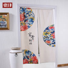 Fitting Room Curtains Nice Curtains Chinese Cotton Curtain Thickening Door Curtain Cloth