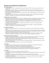 resume writing examples examples of impressive resumes resume accomplishments examples berathen com financial