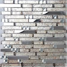 stainless steel tiles for kitchen backsplash stainless steel tile glass mosaic kitchen backsplash tiles ssmt134