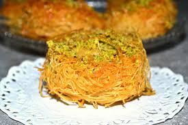 cuisine algeroise ktayef kataifi recipe قطايف