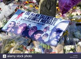 goring george michael tributes to the late george michael at his home in goring on thames
