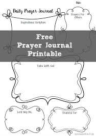 free prayer journal printable prayer journal printable heavenly