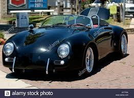 porsche 356 porsche 356 speedster black convertible stock photo royalty free