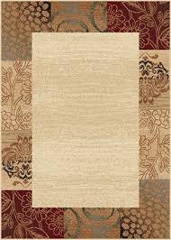 Brown Throw Rugs Amazon Com Universal Rugs 105202 Ivory 8x10 Area Rug 7 Feet 6