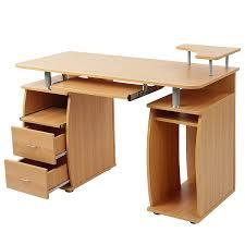 B Otisch Mit Schubladen Schreibtisch Computertisch Bürotisch Mit Tastaturauszug 2