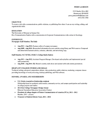 What To Put On A College Resume Things That Look Good On A College Resume Free Resume Example