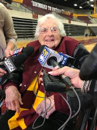 Old Lady College Meme - sister jean how a 98 year old nun became the hottest property in