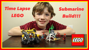 Bathtub Submarine Toy Lego Submarine Time Lapse Build And Play In Bath Tub Youtube
